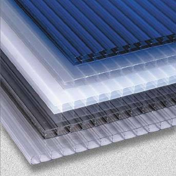 Clear polycarbonate panels